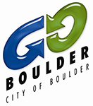 Go Boulder City of Boulder logo