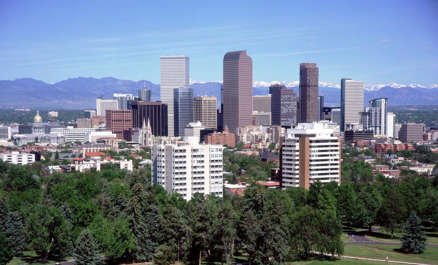 Denver Skyline Credit: Visit Denver