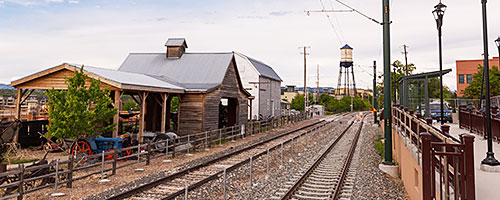 G Line entering Old Town Arvada