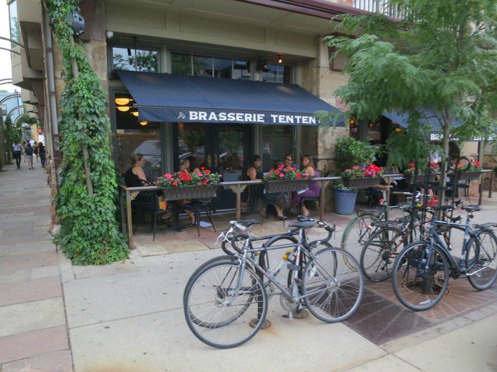 Bikes parked in Boulder