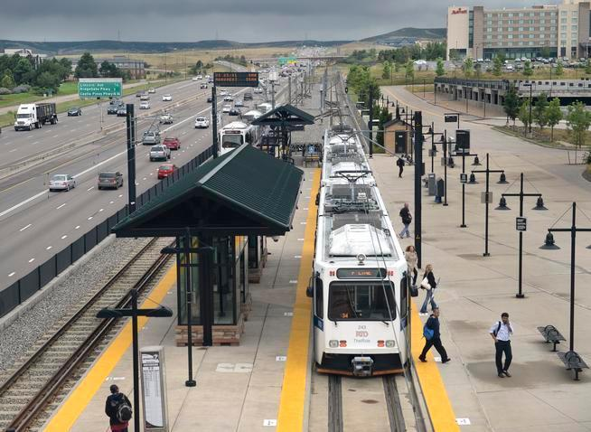 Station on Denver's southeast corridor