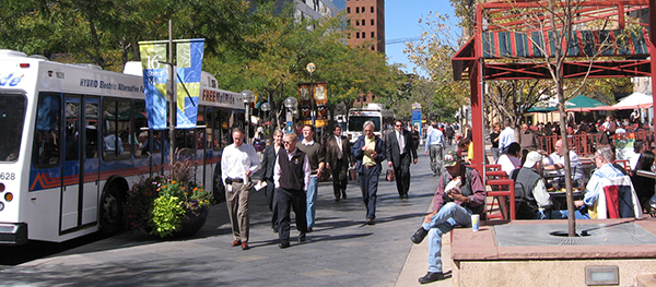 16th Street Mall. Credit: Visit Denver