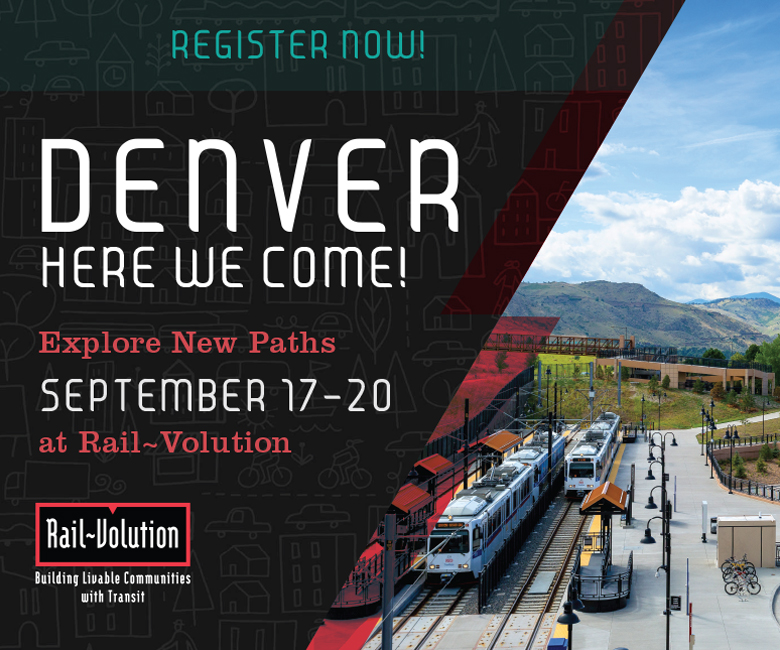 Rail~Volution Denver Here We Come