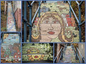 Oakley Mosaic Steps