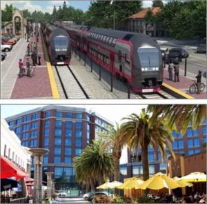 15 Transforming a Corridor: Caltrain, the GBL and TODs
