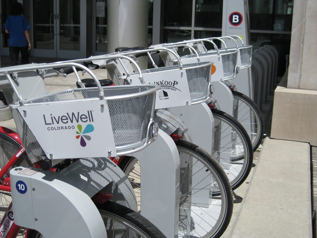 B-cycle bike share Denver