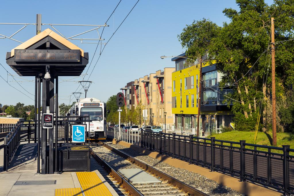 RTD W Line station