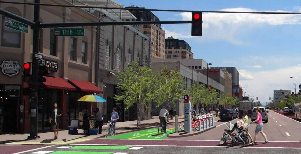 Denver's historic Broadway corridor