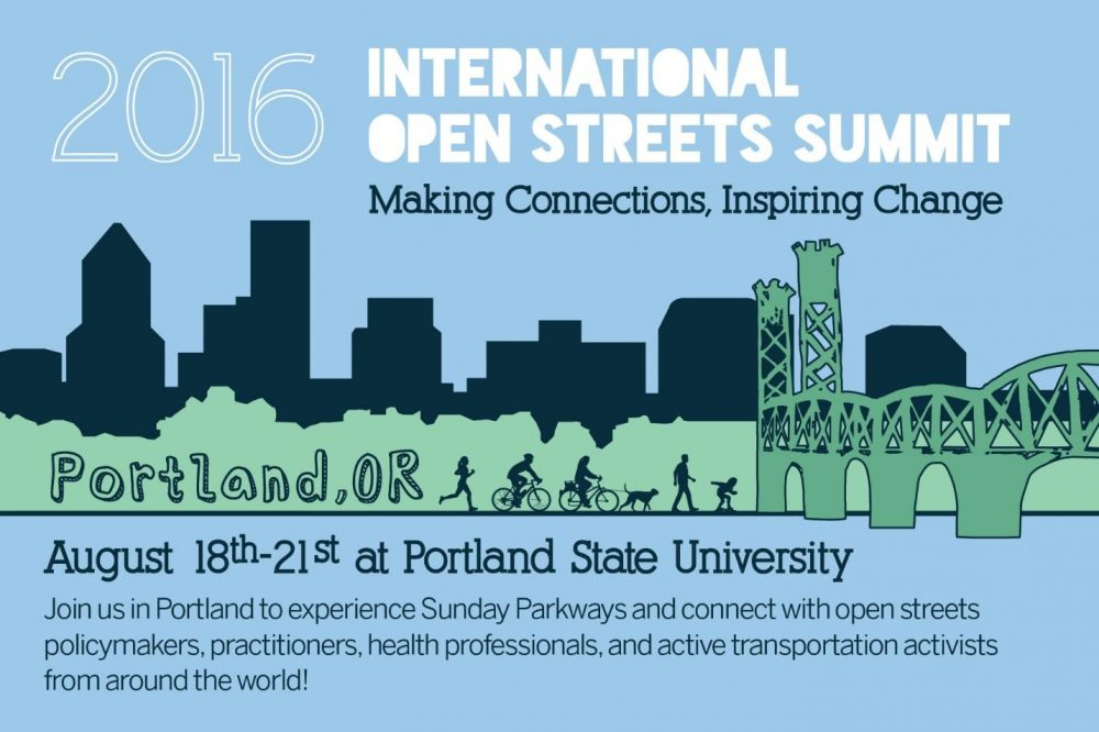 2016 Open Streets Summit