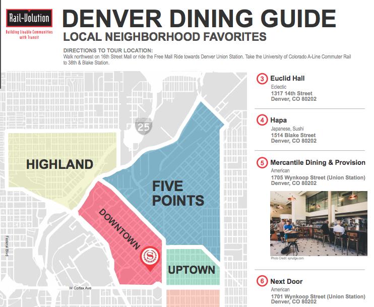 Denver Dining Guide screen shot