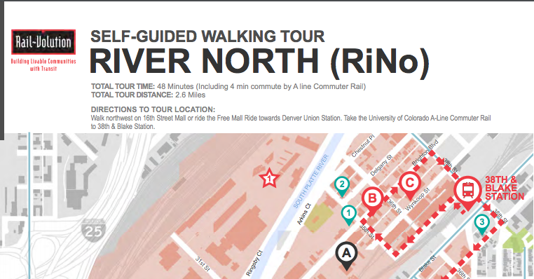 RiverNorth self guided tour screen shot