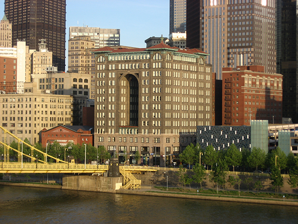Historic downtown Pittsburgh