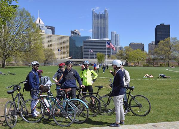 Bike the Burgh bike tour