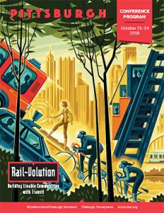 2018 Rail~Volution Conference Program cover